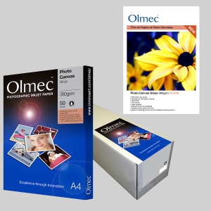 Olmec Photo Canvas Gloss 380gsm OLM 36
