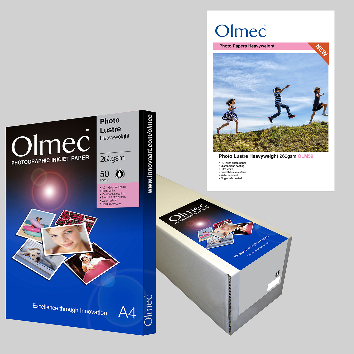 Olmec Photo Lustre Heavyweight 260gsm OLM 59