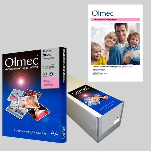Olmec Photo Gloss Heavyweight 260gsm OLM60