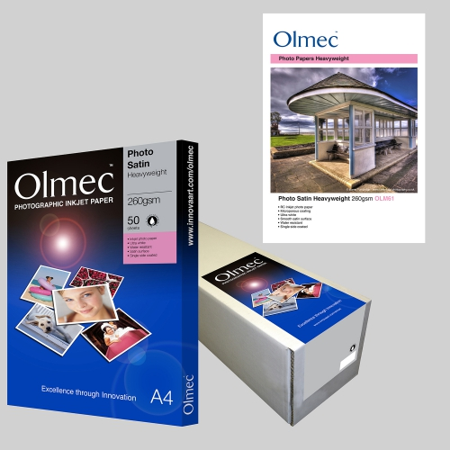 Olmec Photo Satin Heavyweight 260gsm OLM61