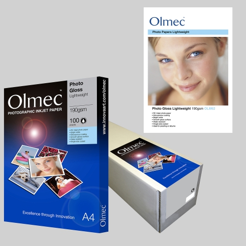 Olmec Photo Gloss Lightweight 190gsm OLM 62