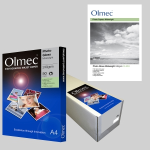 Photo Gloss Midweight 240gsm OLM 63