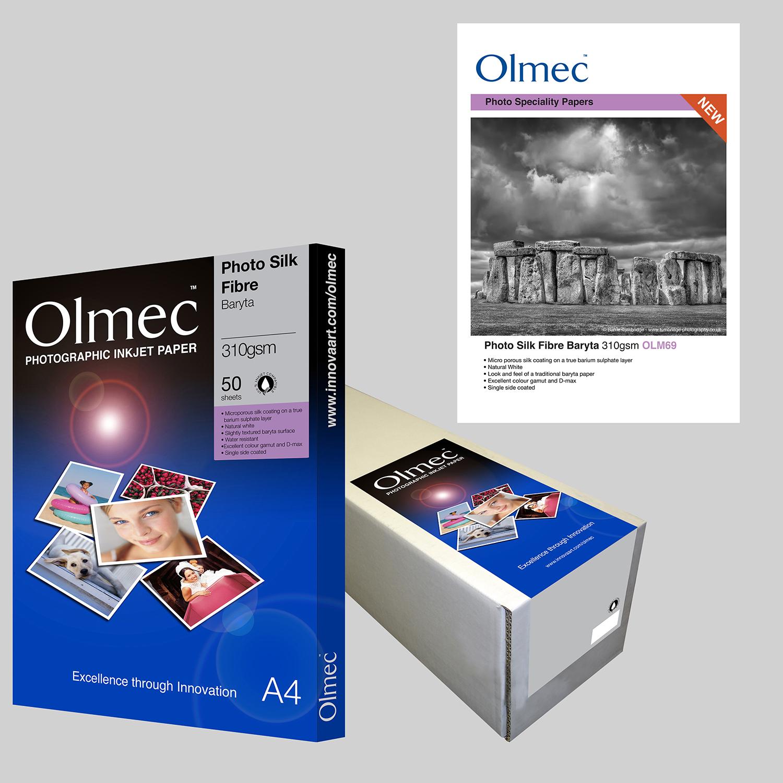 Olmec Photo Silk Fibre Baryta 310gsm OLM 69