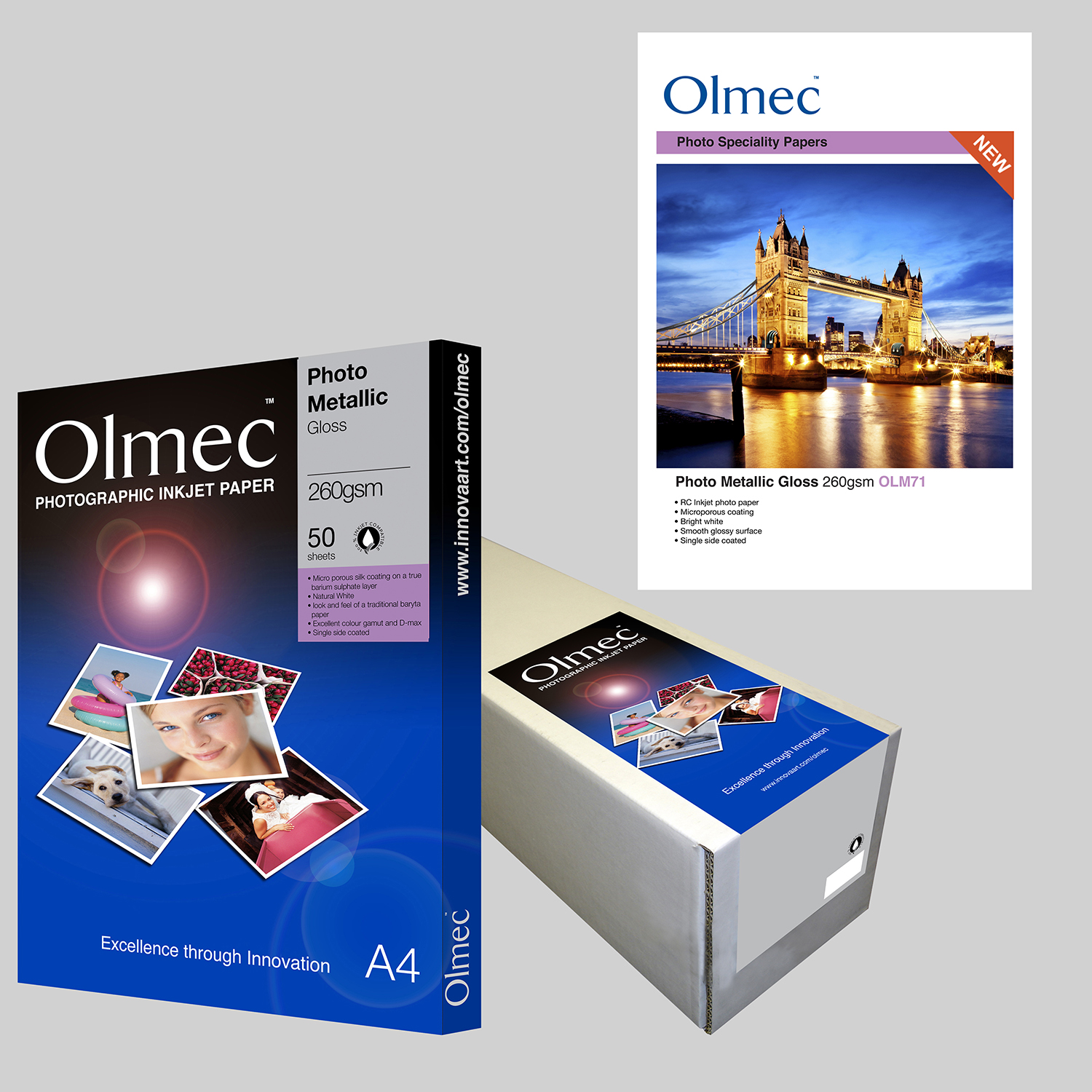 Olmec Photo Metallic Gloss 260gsm OLM 71