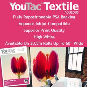 YouTac® Textile | Aqueous Ink Compatible | Innova Art