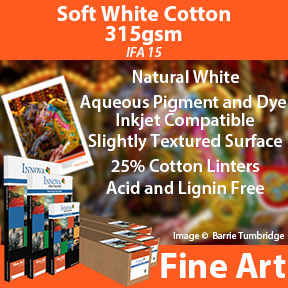 Soft White cotton 315gsm | Inkjet Fine Art Paper