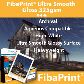FibaPrint Ultra Smooth Gloss 325gsm | Inkjet Photo Paper