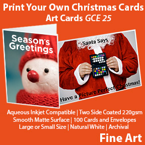 Print Your Own christmas Cards | Innova Inkjet Art Cards