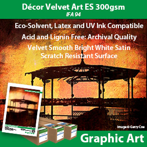 Décor Velvet Art ES 300gsm | IFA 94 | Innova Graphic Art