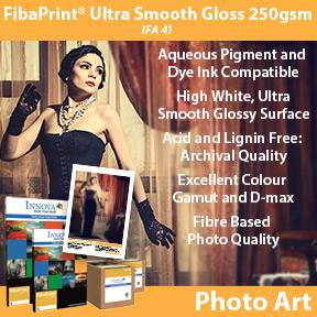 FibaPrint® Ultra Smooth Gloss 250gsm | IFA 41 | Innova Photo Art
