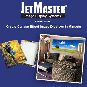 JetMaster Photo Wrap | Canvas Effect Image Display System | Innova Art