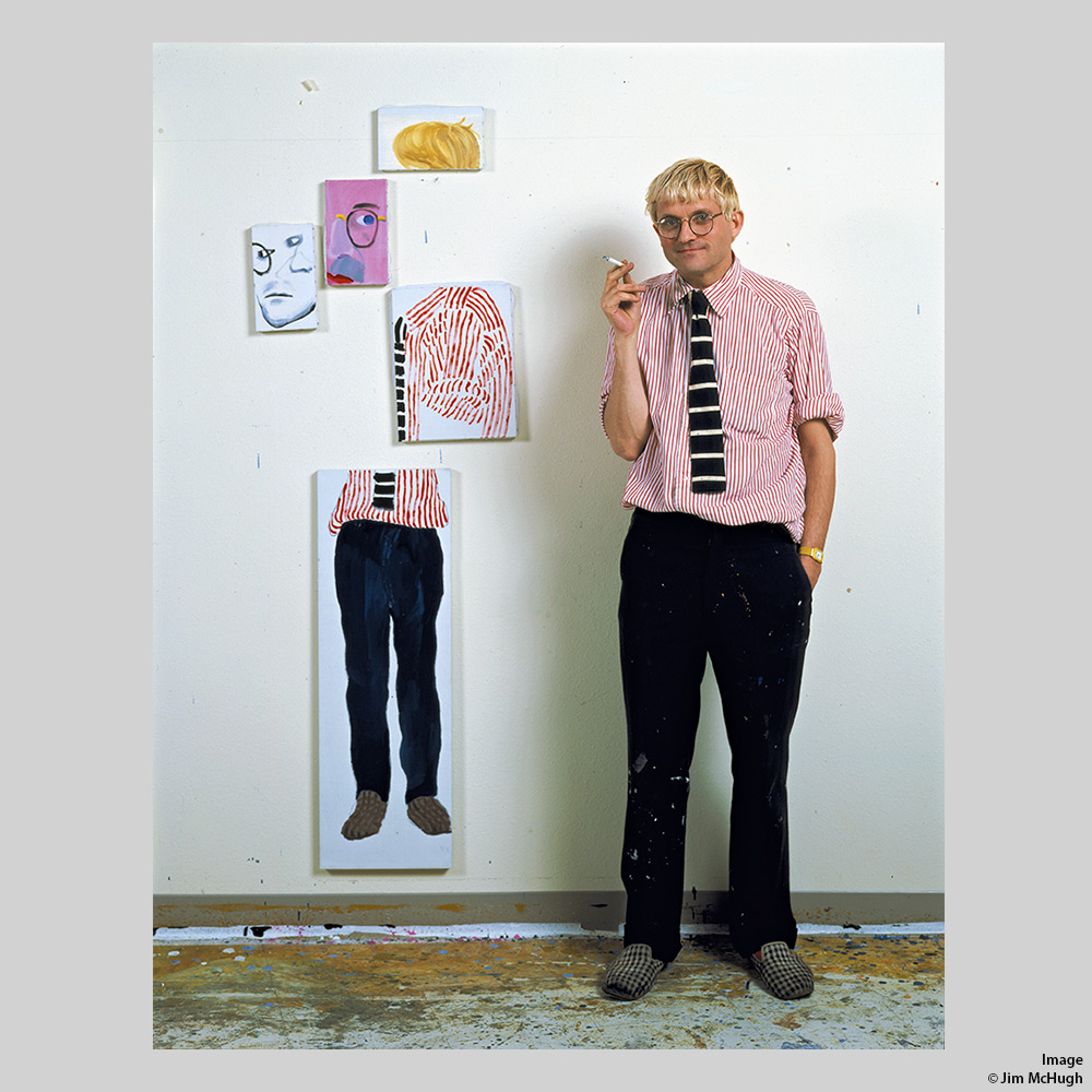 Jim McHugh - David Hockney