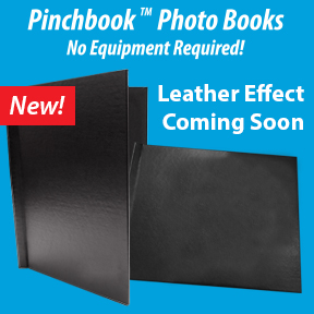 New Leather Effect Pinchbooks Coming Soon