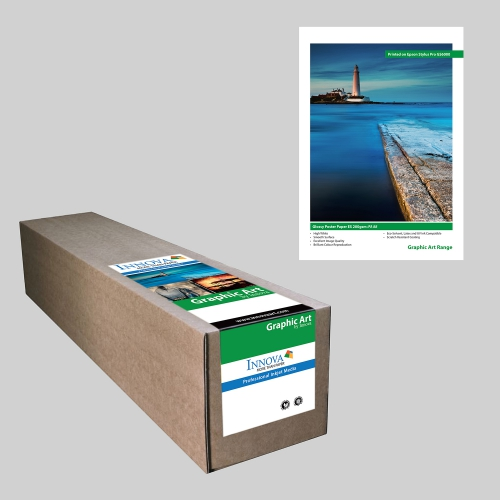 Glossy Poster Paper ES 200gsm IFA 88