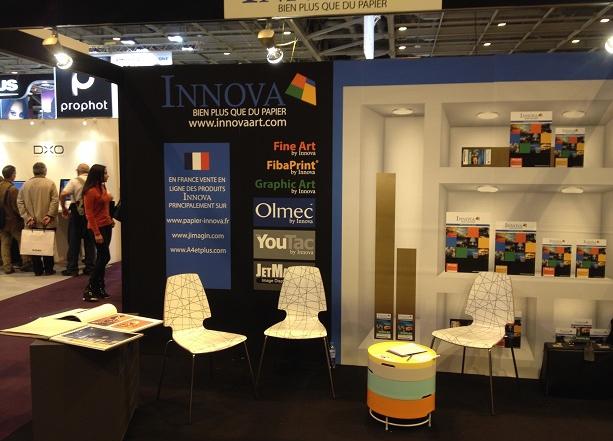 Innova Stand at Salon de la Photo 2014