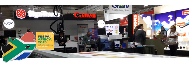 FESPA Africa 2015 Sign-Tronic Stand