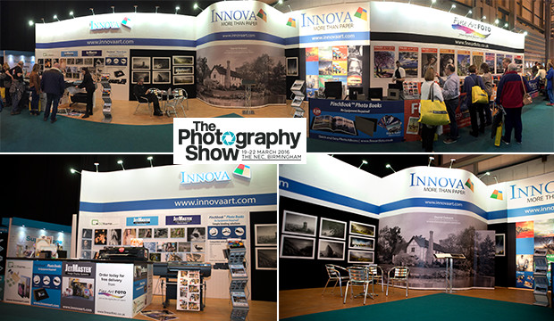 Photography Expo Stands : It s a sell out for innova art at the photography show