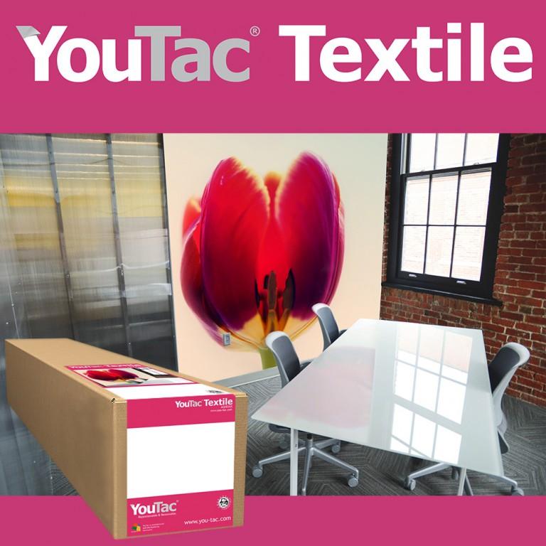 YouTac Textile Aqueous Compatible | Innova Art