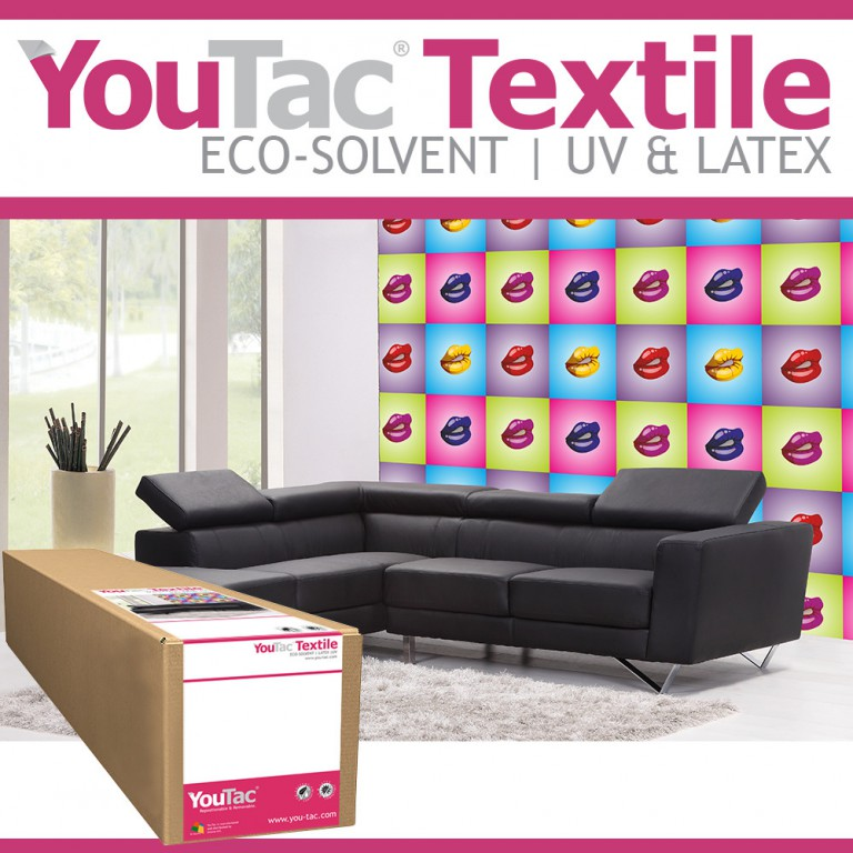 YouTac Textile Eco-solvent, Latex, UV Compatible | Innova Art