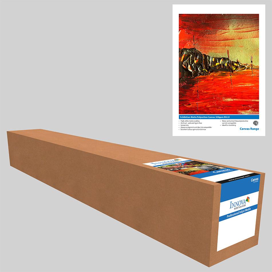 Exhibition Matte Polycotton Canvas 350gsm IFA 35