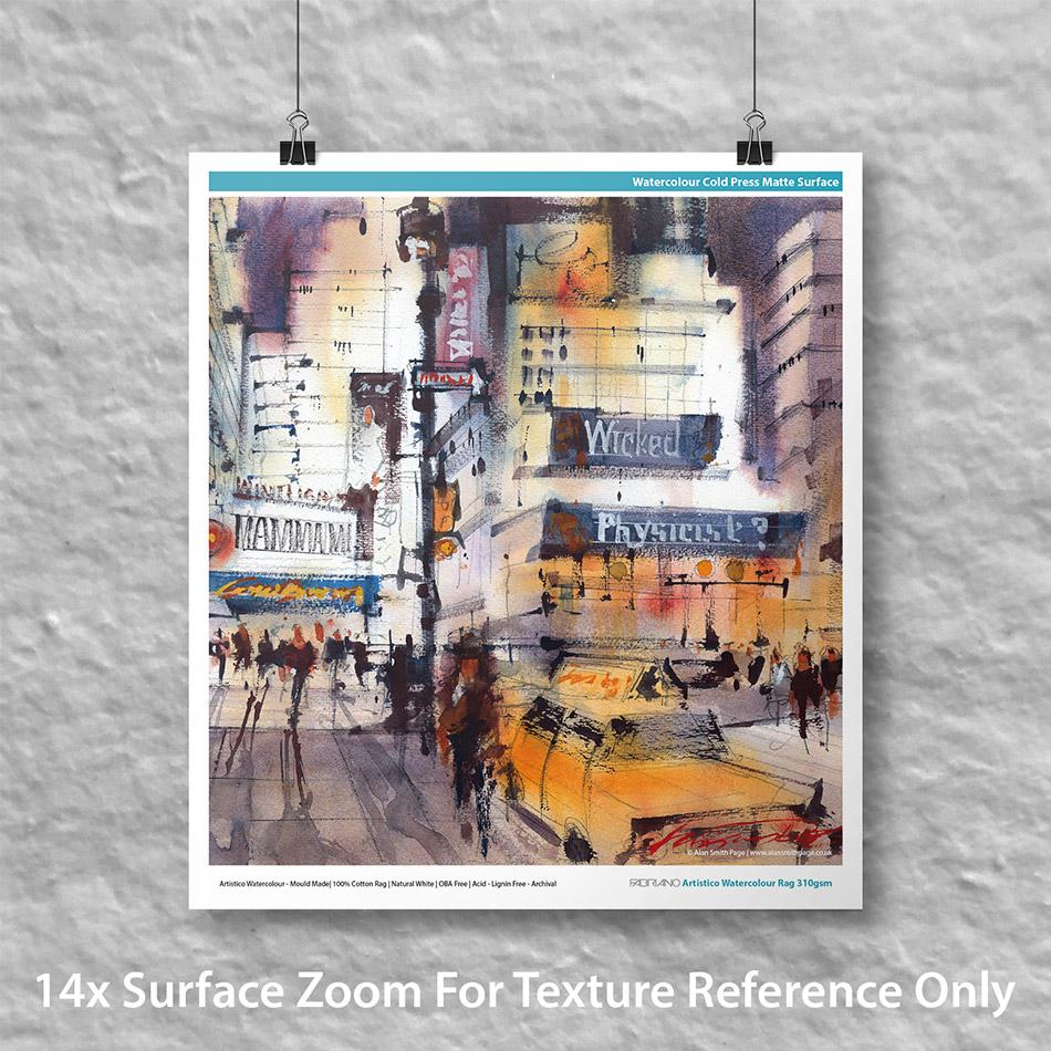 Fabriano Artistico Watercolour Rag 310gsm | Innova Editions | Inkjet Fine Art Paper