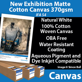 New 100% Cotton Inkjet Canvas | Innova Art