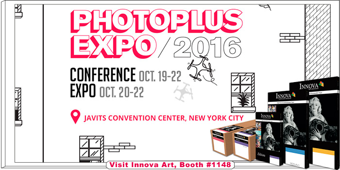 Visit Innova Art at Photo Plus Expo 2016