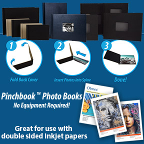Pinchbook™ Photo Books and Double Sided Inkjet Papers   Easy to Make Photo Books   Innova Art