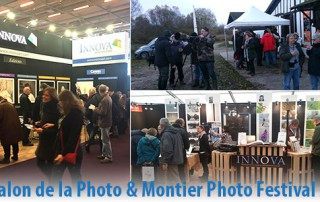 Innova Art at Salon de la Photo and Montier Photo Festival in November 2016