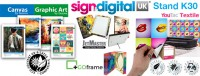 Sign and Digital UK 2017, Visit Innova Art on Stand K30