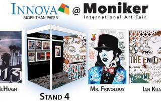 Innova Art at Moniker Art Fair 2017