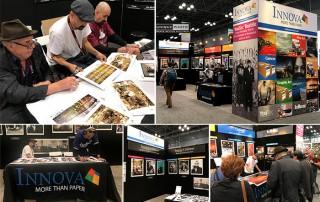 Innova Art at Photo Plus Expo, October 2017