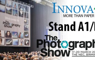 Innova Art to return to The Photography Show in 2018