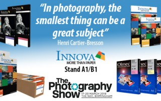 The Photography Show 2018: Innova Art Products