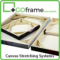 GOframe Canvas Stretching