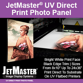 JetMaster UV Direct Print Photo Panel | Direct To Substrate Artwork Display | Innova Art