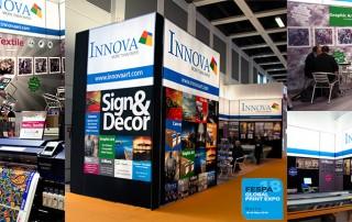 Innova Sign & Decor Portfolio on show at FESPA 2018