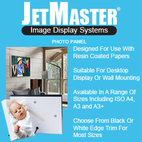 JetMaster Photo Panel | Resin Coated Photo Paper Display | Innova Art