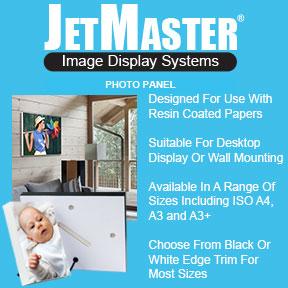 JetMaster Photo Panel | Resin Coated Photo Paper Display | Innova Art