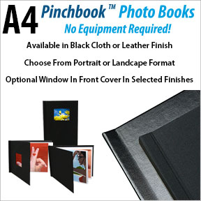 A4 Pinchbook Photo Book | Photo Albums and Portfolio Presentation | Innova Art