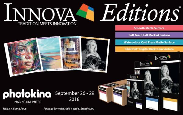 Innova Editions at Photokina 2018