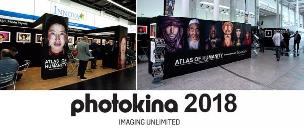 Innova Art and Atlas Of Humanity at Photokina 2018