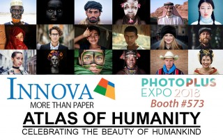 Innova Art and Atlas Of Humanity at Photo Plus Expo 2018