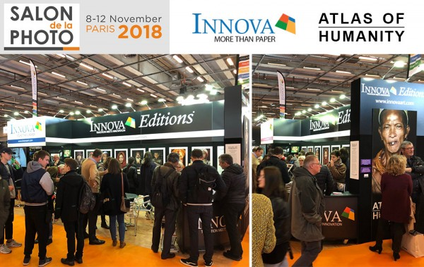 Innova Art Stand at Salon de la Photo 2018