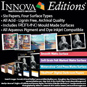 Innova Editions Range | OBA Free Archival Inkjet Fine Art and Photo Papers