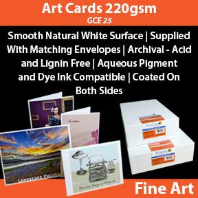Art Cards 220gsm GCE 25 | Innova Inkjet Fine Art