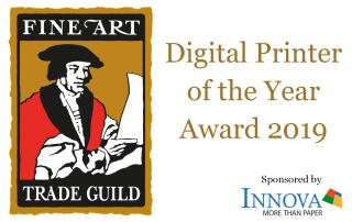 Fine Art trade Guild Digital Printer of the Year Award 2019 | Sponsored by Innova Art