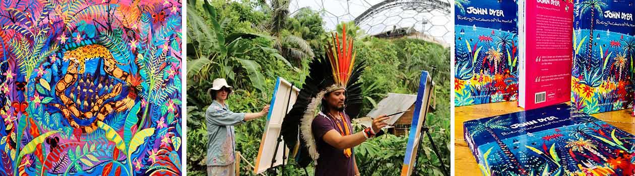 John Dyer Spirit of the Rainforest and Book