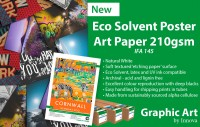 New Ec Solvent Poster Art Paper 210gsm | Archival Eco Solvent Poster Printing | Innova-Graphic-Art