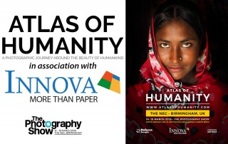 Atlas of Humanity in association with Innova Art at The Photography Show 2019